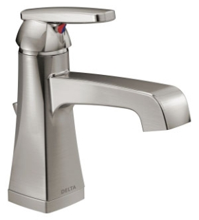 564-SSMPU-DST Stainless Delta Ashlyn: Single Handle Centerset Lavatory Faucet