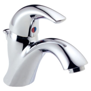 583LF-WF Chrome Delta Classic: Single Handle Centerset Lavatory Faucet