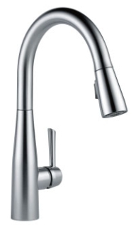 9113-AR-DST DELTA ESSA SINGLE HANDLE PULL-DOWN KITCHEN FAUCET ARCTIC STAINLESS