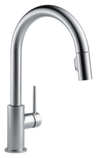 9159-AR-DST Arctic Stainless Delta Trinsic: Single Handle Pull-Down Kitchen Faucet