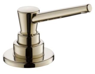 $$$ RP1001PN Polished Nickel Delta: Soap/Lotion Dispenser