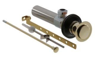 RP5651PB Polished Brass Delta: Drain Assembly - Metal - Lavatory