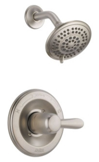 T14238-SS Stainless Delta Lahara: Monitor(R) 14 Series Shower Trim only.