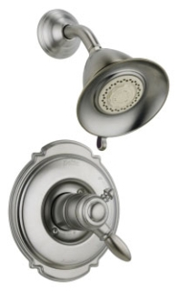 T17255-SS Stainless Delta Victorian: Monitor(R) 17 Series Shower Trim