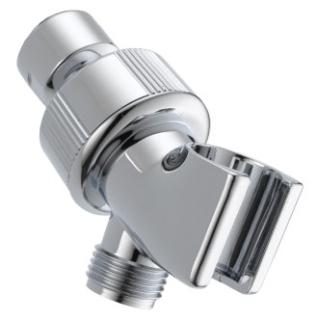 U3401-PK Chrome Delta: Shower Arm Mount - Adjustable