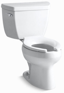 K3505-0 WELLWORTH PRESSURE TOILET-EB