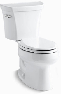 K3978-0 WELLWORTH 1.6 GPF TOILET EB 2-PIECE, STD HEIGHT