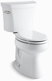 K3979-0 KOHLER HIGHLINE 1.6 GPF EB TOILET COMFORT HEIGHT, WHITE