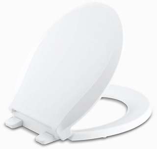 K4639-0 KOHLER SEAT PB CACHET SLOW-CLOSE QUICK-REL WHITE
