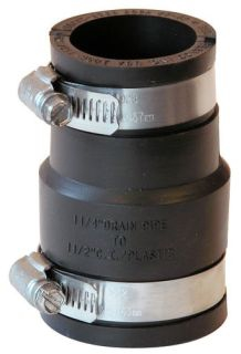 1056-150/125 1-1/2-1-1/4 CI/PVC COUPLING MR56-15/125
