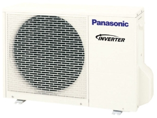 CU-E9RKUA PANASONIC OUTDOOR 9,000 COOLING & 12,000 BTU HEATING SINGLE SPLIT OUTDOOR UNIT 23.0 SEER/13.0 EER 230/208V-1-60