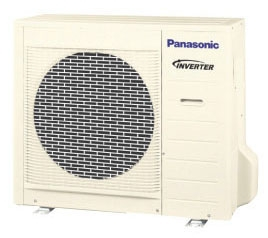 CU-RE24SKUA PANASONIC 22,000 COOLING & 22,000 BTU HEATING SINGLE SPLIT OUTDOOR UNIT 16.0 SEER/9.2 EER 230/208V-1-60