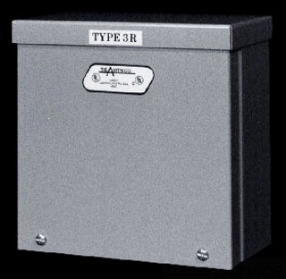 AUSAB-18188RB NEMA TYPE 3R GALVANIZED BOX 18X18X8, AUSTIN