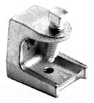BRI951 1/4-20 BEAM CLAMP MALLEABLE