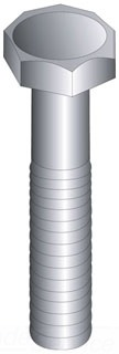 CUL55816 1/2-13 X 1 HEX HEAD BOLT