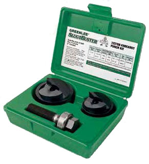GRT7237BB 1-1/2 AND 2 CONDUIT SIZE MANUAL SLUG-BUSTER KNOCKOUT PUNCH KIT, GREENLEE