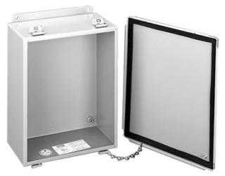 HOFFMAN A1614LP J BOX, TYPE 12 LIFT-OFF COVER, BULLETIN A51LP (LIFT-OFF COVER