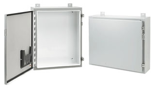 HOFFMAN A483010LP WALL-MOUNT TYPE 12/13 ENCL., BULLETIN A12 (TYPE 12 MEDIUM WALL-MOUNTED ENCLOSURES), SIZE/DIMS: 48.00X30.00X10.00, MATERIAL/FINISH: STEEL/PAINT 12/13 ENCL., BULLETIN A12 (TYPE 12 MEDIUM WALL-MOUNTED ENCLOSURES), SIZE/DIMS: 48.00X30.00X10.00, MATERIAL/FINISH: STEEL/PAINT