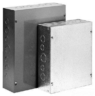 HFASG6X6X4 PULL BOX, SCREW COVER /