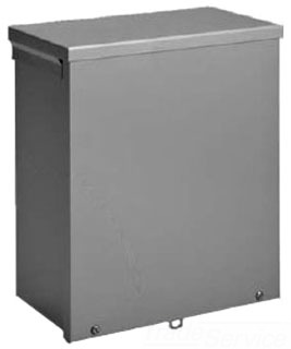 HOFFMAN A8R64 TYPE 3R ENCLOSURE, SCREW COVER, BULLETIN A90S3 (SCREW COVER TYPE 3R), SIZE/DIMS: 8.00X6.00X4.00, MATERIAL/FINISH: GALV/PAINT SCREW COVER, BULLETIN A90S3 (SCREW COVER TYPE 3R), SIZE/DIMS: 8.00X6.00X4.00, MATERIAL/FINISH: GALV/PAINT