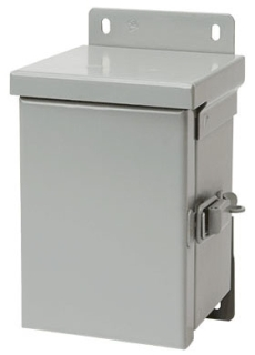 HFA12R126HCR TYPE 3R ENCLOSURE, HNG COVER, BULLETIN A3SM (HINGED COVER TYPE 3R SMALL ENCLOSURES), SIZE/DIMS: 12.00X12.00X6.00, MATERIAL/FINISH: GALV/PAINT, HOFFMAN