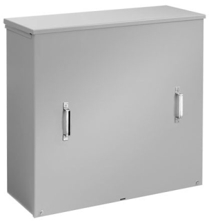 HFA363611CT CT ENCLOSURE / SCREW COVER, BULLETIN A90CT (CURRENT TRANSFORMER), SIZE/DIMS: 36.00X36.00X11.00, MATERIAL/FINISH: GALV/PAINT, HOFFMAN