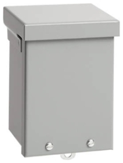 HOFFMAN A6R66NK TYPE 3R ENCLOSURE, SCREW COVER, BULLETIN A90S3 (SCREW COVER TYPE 3R), SIZE/DIMS: 6.00X6.00X6.00, MATERIAL/FINISH: GALV/PAINT EX2 SCREW COVER, BULLETIN A90S3 (SCREW COVER TYPE 3R), SIZE/DIMS: 6.00X6.00X6.00, MATERIAL/FINISH: GALV/PAINT