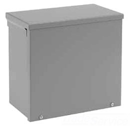HFA12R44 TYPE 3R ENCLOSURE, SCREW COVER, BULLETIN A90S3 (SCREW COVER TYPE 3R), SIZE/DIMS: 12.00X4.00X4.00, MATERIAL/FINISH: GALV/PAINT, HOFFMAN