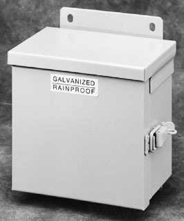 HFA12R1210HCR TYPE 3R ENCLOSURE, HNG COVER, BULLETIN A3SM (HINGED COVER TYPE 3R SMALL ENCLOSURES), SIZE/DIMS: 12.00X12.00X10.00, MATERIAL/FINISH: GALV/PAINT, HOFFMAN