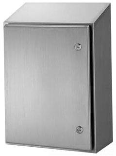 HOFFMAN WS363012SS WALL-MOUNT TYPE 4X ENCLOSURE, BULLETIN WS1 (WATERSHED WALL-MOUNT ENCLOSURES), SIZE/DIMS: 36.00X30.00X12.00, MATERIAL/FINISH: SS TYPE 304 4X ENCLOSURE, BULLETIN WS1 (WATERSHED? WALL-MOUNT ENCLOSURES), SIZE/DIMS: 36.00X30.00X12.00, MATERIAL/FINISH: SS TYPE 304