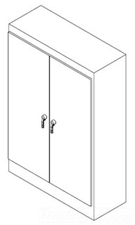 HOFFMAN A907236SSFSDN4 TWO-DOOR FS ENCLOSURE TYPE 4X, BULLETIN A30S4 (STAINLESS STEEL FREE-STANDING TYPE 4 ENCLOSURES), SIZE/DIMS: 90.06X72.06X36.06, MATERIAL/FINISH: SS TYPE 304 ENCLOSURE TYPE 4X, BULLETIN A30S4 (STAINLESS STEEL FREE-STANDING TYPE 4 ENCLOSURES), SIZE/DIMS: 90.06X72.06X36.06, MATERIAL/FINISH: SS TYPE 304 ENCLOSURE TYPE 4X, BULLETIN A30S4 (STAINLESS STEEL FREE-STANDING TYPE 4 ENCLOSURES), SIZE/DIMS: 90.06X72.06X36.06, MATERIAL/FINISH: SS TYPE 304