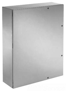 HOFFMAN CSD603612SS6R WALL-MOUNT TYPE 4X ENCLOSURE, BULLETIN CWS (STAINLESS STEEL CONCEPT ENCLOSURES), SIZE/DIMS: 60.00X36.00X12.00, MATERIAL/FINISH: SS TYPE 316L TYPE 4X ENCLOSURE, BULLETIN CWS (STAINLESS STEEL CONCEPT? ENCLOSURES), SIZE/DIMS: 60.00X36.00X12.00, MATERIAL/FINISH: SS TYPE 316L