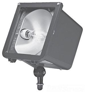 HUBBELL LIGHTING MIC-0100H-358 MICROLITER, MEDIUM BEAM, 100MH QUAD, 1/2 KNUCKLE, BRONZE, LAMP