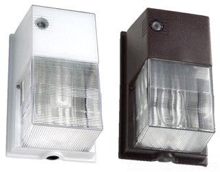 HBLNRG-301B-PC WALLPACK 50W HPS W/PHOTOBUTTON BRONZE FINISH/LAMP INCLUDED