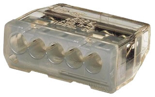 IDL30-087J PUSH-IN 12AWG 5-PORT, 150 JAR, IDEAL INDUSTRIES