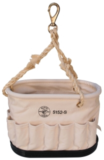 KLE5152S OVAL BUCKET WITH 41 POCKETS, KLEIN TOOLS