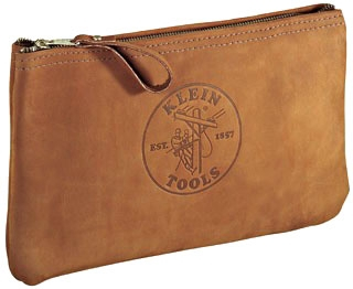 KLE5139L LEATHER TOOL CASE KLEIN TOOLS