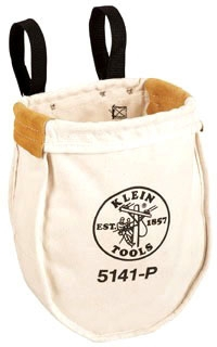 KLE5141P EXTRA-LARGE CANVAS UTILITY BAG, KLEIN TOOLS