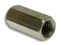 METRCT26 1/4-20 PLATED ROD COUPLING