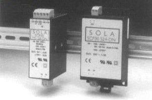 SOLASCP30S24-DN 30W 24V SW PWR SPLY DIN, SOLA/HEVI DUTY