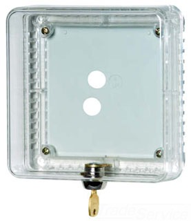 HONTG510A1001 SMALL THERMOSTAT GUARD CLEAR HONEYWELL