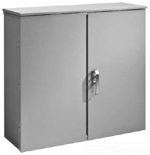 HFA484814HCT CT ENCLOSURE / HINGE COVER, BULLETIN A90CT (CURRENT TRANSFORMER), SIZE/DIMS: 48.00X48.00X14.00, MATERIAL/FINISH: GALV/PAINT, HOFFMAN