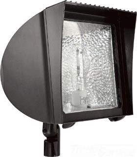 RABFXH150PSQ FLEXFLOOD 150W MH PSQT HPF PULSE START W/ARM + LAMP, FXH150PSQ, RAB LIGHTING
