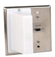 EDW7633-2 CORRIDOR DOME STATION. ONE CLEAR, ONE RED LAMP. INTERNAL BUZZER., EDWARDS