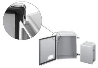 HOFFMAN A604CHFTC J BOX,TYPE 12 HINGED COVER FTC, BULLETIN A51 (JUNCTION BOXES), SIZE/DIMS: 6.00X4.00X4.54, MATERIAL/FINISH: STEEL/GRAY HINGED COVER FTC, BULLETIN A51 (JUNCTION BOXES), SIZE/DIMS: 6.00X4.00X4.54, MATERIAL/FINISH: STEEL/GRAY
