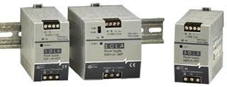 SOLASDP06-24-100T 15W 24V DIN PLASTIC 115/230VIN, SOLA/HEVI DUTY