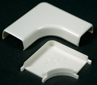WMD411 411 90D FLAT ELBOW WIREMOLD
