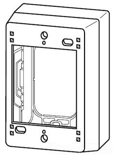 WMD2344 EXTRA DEEP DEVICE BOX 4-1/2