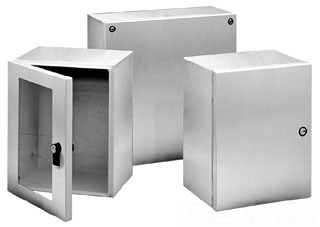 HOFFMAN LSC252015SS6 INST. BOX,TYPE 4X SCREW COVER, BULLETIN A54S (STAINLESS STEEL INLINE INSTRUMENTATION ENCLOSURES), SIZE/DIMS: 250X200X150MM, MATERIAL/FINISH: SS TYPE 316L 4X SCREW COVER, BULLETIN A54S (STAINLESS STEEL INLINE? INSTRUMENTATION ENCLOSURES), SIZE/DIMS: 250X200X150MM, MATERIAL/FINISH: SS TYPE 316L