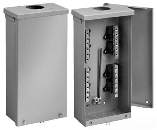 HFTB3R201 3R TERMINAL BOX, 200A, 1PH, BULLETIN S90B3 (TYPE 3R TERMINAL BOXES), SIZE/DIMS: 23.00X12.00X4.50, MATERIAL/FINISH: GALV/GRAY, HOFFMAN